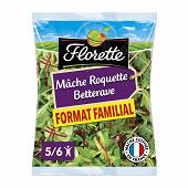 Florette salade trio mâche roquette betterave sachet 175g
