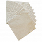 Serviettes x50 recyclees fsc 33x33cm 2 plis