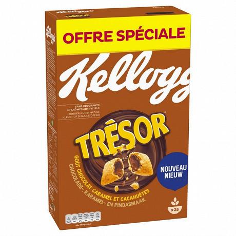 Kellogg's tresor choco caramel et peanut 750g
