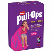 Huggie pull-ups explorers fille 1.5-3 ans