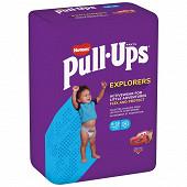 Huggies pull-ups explorers garcon 9-18 mois