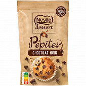 Nestlé Dessert pépites de chocolat noir 100g
