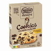 Nestle dessert cookies pepites choco 351g