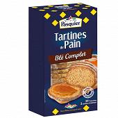 Brioche Pasquier tartines de pain au blé complet 240g