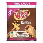Whaou! crêpes chocolat x15 480g prix choc