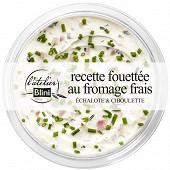Atelier blini fromage frais fouetté échalote ciboulette 140g