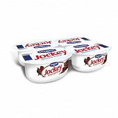 Jockey specialite laitiere sucree  aux copeaux de chccolat 4 x 120g