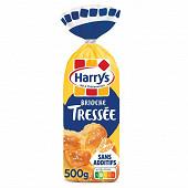 Harrys brioche tressée nature au sucre perlé sans additifs 500g