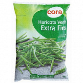 Cora haricots verts extra-fins 1kg