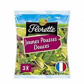 Florette salade jeunes pousses sachet 100g