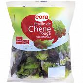 Cora salade feuille de chêne rouge sachet 125g