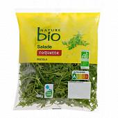 Nature Bio salade roquette bio sachet 100g