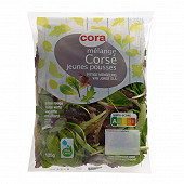 Cora salade mélange corsé jeunes pousses sachet 125g