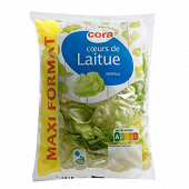 Cora salade coeurs de laitue maxi format sachet 320g