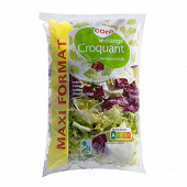 Cora salade mélange croquant sachet 400g