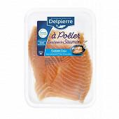 Escalopes de saumon salé