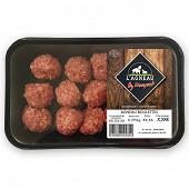 Agneau boulettes preparation de viande hachee 375gr