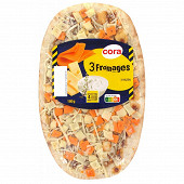Cora pizza 3 fromages 180g