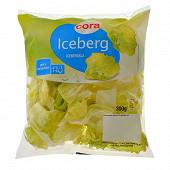 Cora salade iceberg sachet 300g
