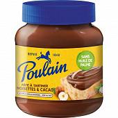 Poulain pâte à tartiner noisettes et cacao sans huile de palme 400g
