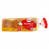 Cora pain de mie moelleux nature 500g