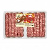 Saucisses pur porc aux herbes x12 660g