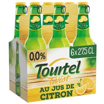 Tourtel Twist Tourtel twist au jus de citron 6x27.5cl 0%vol