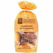 Patrimoine gourmand madeleines de commercy pur beurre 300g