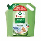 Rainett lessive liquide concentree peaux sensibles ecolabel aloe vera 1.5l