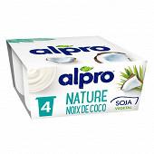 Alpro Nature à la Noix de Coco 4x125g