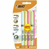 8 surligneur highliter grip fluo / pastel