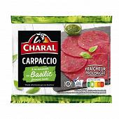 Carpaccio basilic et sa marinade 230g Charal