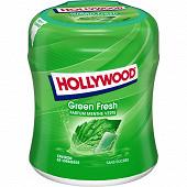 Hollywood greenfresh menthe verte 60 dragées sans sucres bottle 87g