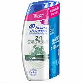 Head & Shoulders shampooing anti-démangeaison 2en1- 3x270ml