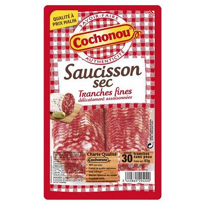 Cochonou Cochonou saucisson sec 30 tranches 93g