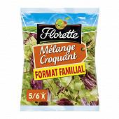 Florette salade mélange croquant format familial sachet 350g