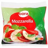 Cora mozzarella au lait pasteurisé 17%mg 125g