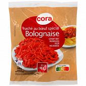 Cora haché au boeuf spécial bolognaise vbf 500g