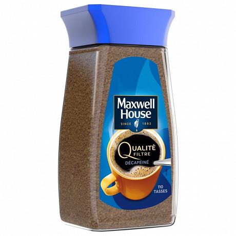 Maxwell House qualité filtre décaféiné 200g