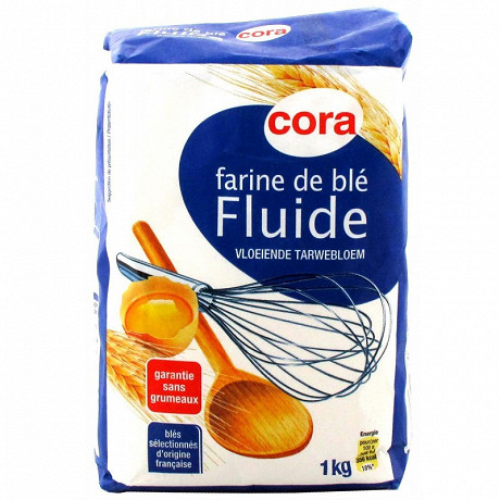 Cora farine de blé fluide 1kg