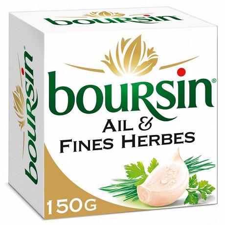 Boursin ail et fines herbes 150g