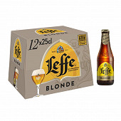 Leffe blonde pack 12x25cl 6.6%vol