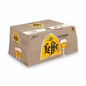 Leffe blonde 28x25cl Vol.6.6%