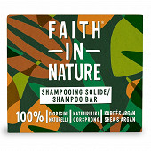 Faith in nature shampooing solide argan 85g