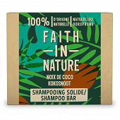 Faith in nature shampooing solide coco 85g