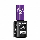 Rimmel vernis a ongles NU super gel top coat 001 12ml