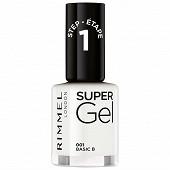 Rimmel nu protège vao super gel 001 pure white 12ml