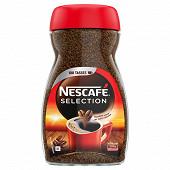 Nescafé séléction café soluble corsé et intense 200g