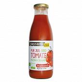 Ethiquable pur jus de tomate de marmande bio 75cl