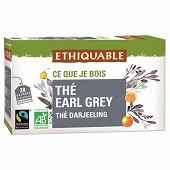 Ethiquable thé earl grey bio 36g